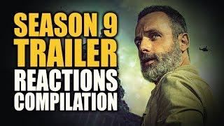 The Walking Dead SEASON 9 TRAILER Reactions Compilation