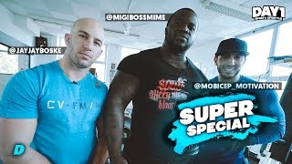 DAY1 SUPER SPECIAL: Mo Bicep VS Migiboss || #DAY1 Afl. #35