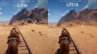 Low vs Ultra Graphics | Battlefield 1 (Open Beta) | R9 280x | 1080p, 60fps