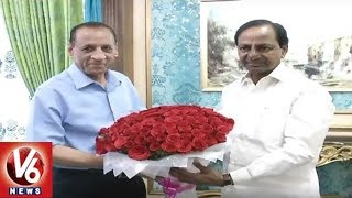 CM KCR Meets Governor Narasimhan | Invites For Kanti Velugu Scheme Launch