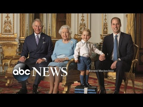 Little Prince George Steals the Scene in a Picture Featuring 4 Generations of Royals