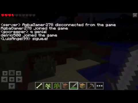 ANARCHY SERVER MINECRAFT PE 0.9.0