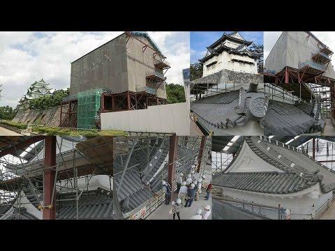 名古屋城西南隅櫓保存修理工事現場見学会