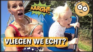 ENGE ATTRACTiES iN PRETPARK? 😱 | Bellinga Familie Vloggers #1105