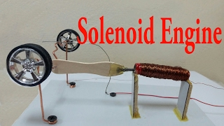 How To Make Solenoid Engine