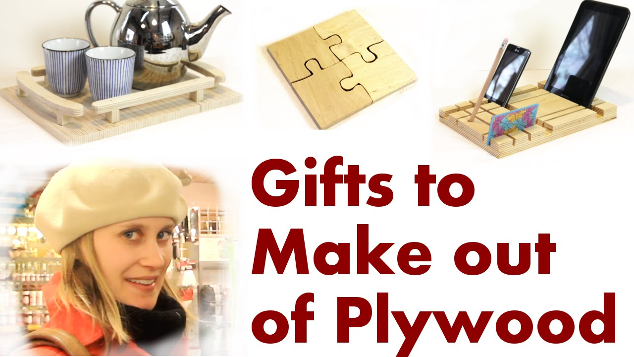 Making Christmas Presents with Baltic Birch Plywood - YouTube