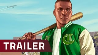 Grand Theft Auto V  - PC-Trailer zu GTA 5 in 60 FPS und Full HD