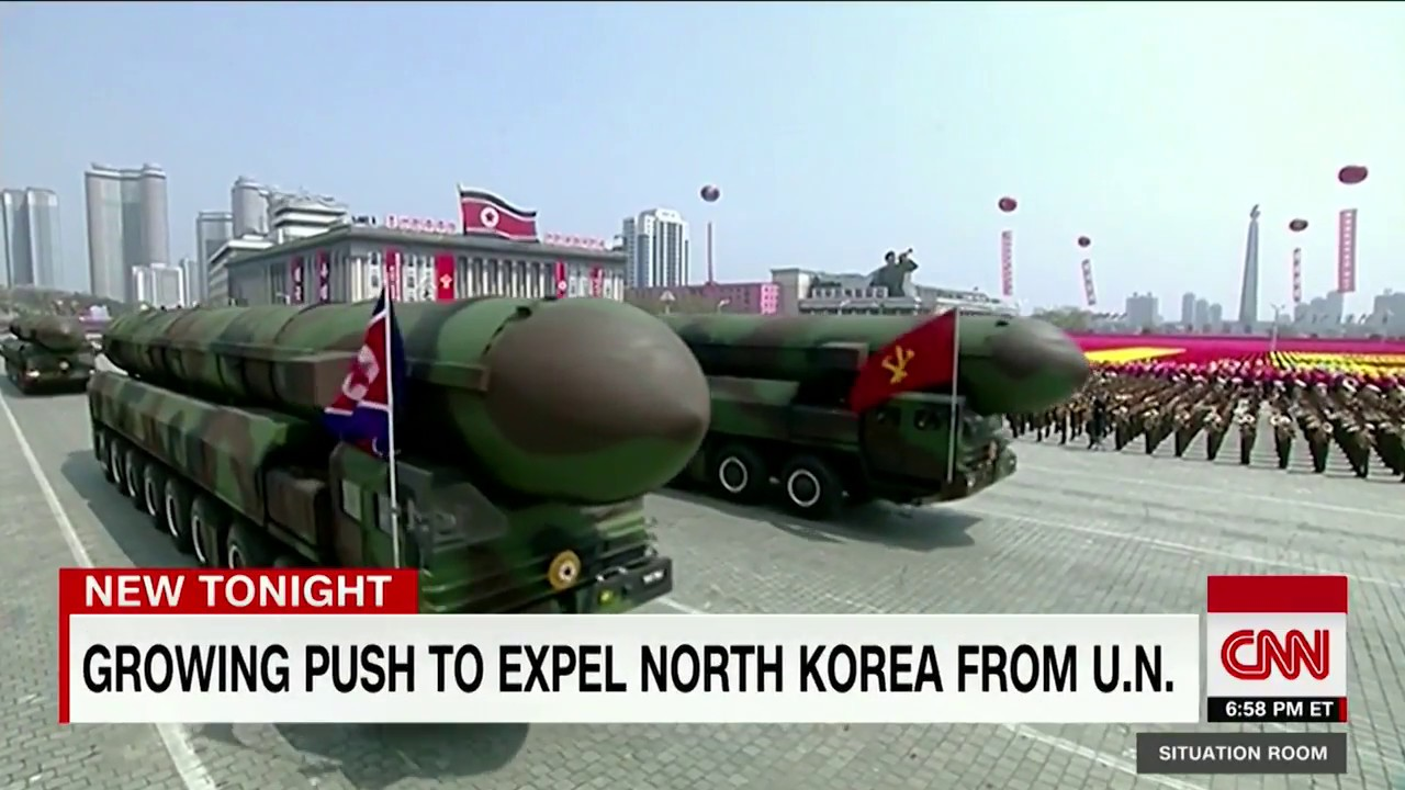 Senator pushing to expel North Korea from United Nations