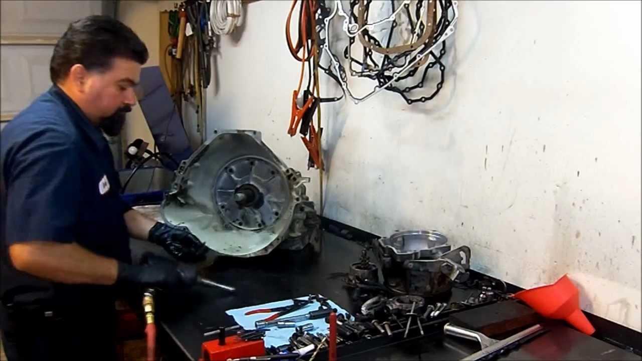 Ford c6 tranny repair manuals
