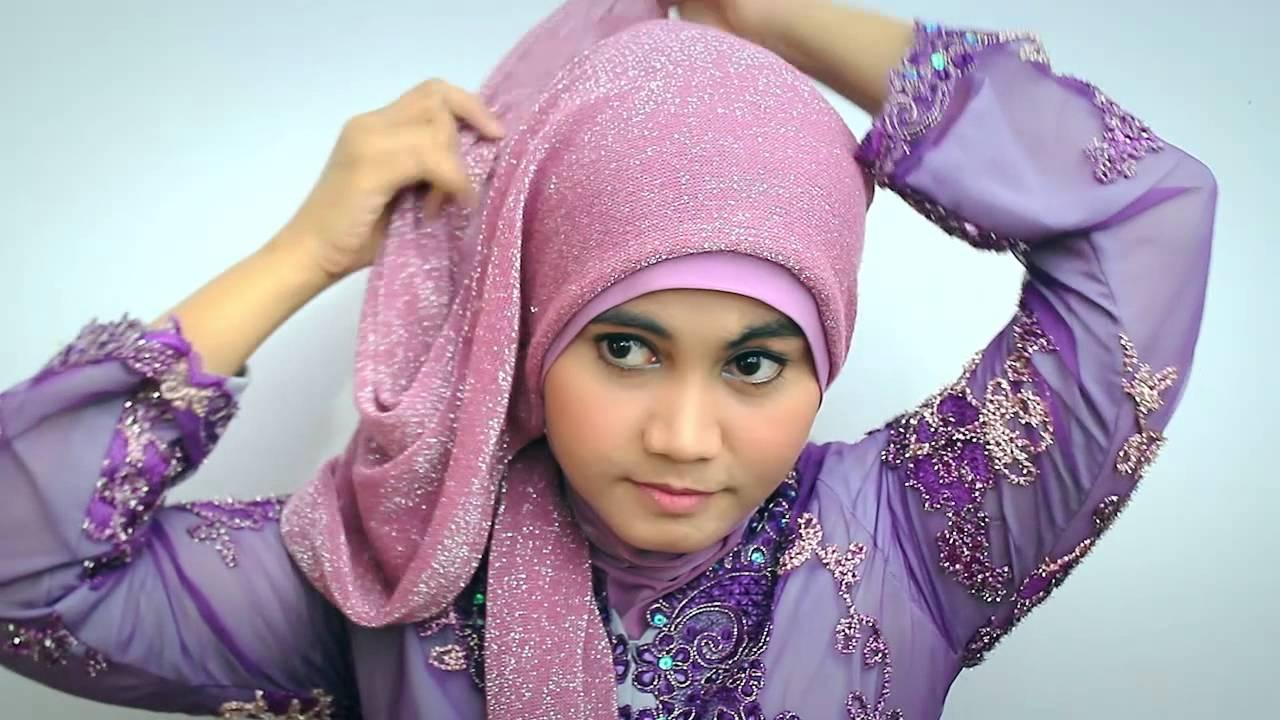 Hijab tutorial Kebaya Modern/Graduation Day - YouTube