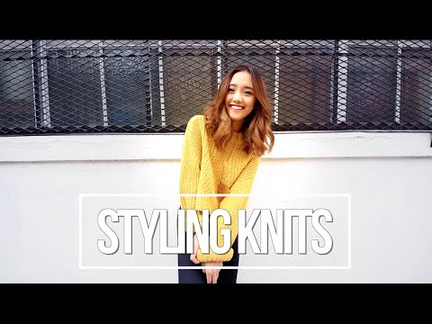 How I Style Knits