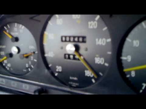 Mercedes W123 - 300D 175km/h+ from TURKEY!