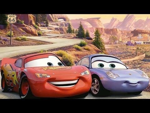 Мультики про Машинки. Молния МАКВИН и его подружка Салли. Cars Toon McQueen. #Мультик игра. Disney