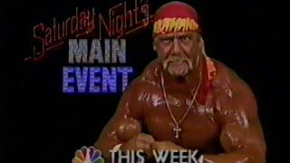 "11/20/1988 NBC Show Promos ""Cosby"" ""Hulk Hogan"" ""Family Ties"" + More"