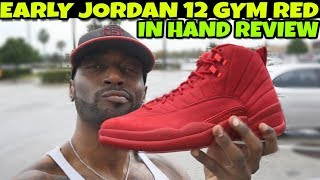 2018 Jordan 12 Gym Red Review!! Are They Worth The Hype??