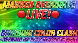 GRINDING THE TELVIN SMITH EVENT! AMAZING COIN METHOD! Madden Overdrive Live Stream Color Clash