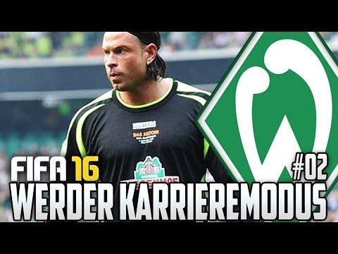 FIFA 16 KARRIEREMODUS #02 - TIM WIESE COMEBACK?! - FIFA 16 Karriere Werder Bremen