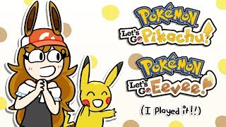 More Thoughts on Pokemon Let's Go Pikachu & Eevee (I played it)