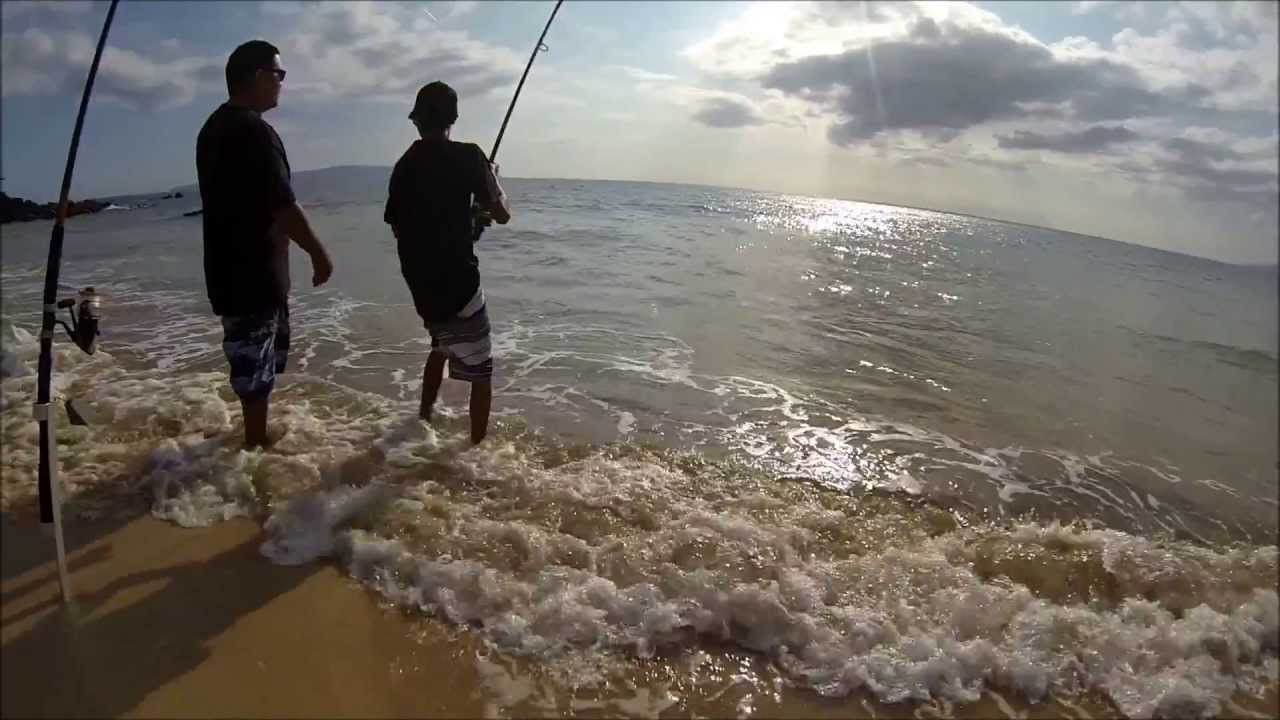 Shore fishing in hawaii with gopro youtube for Best gopro for fishing