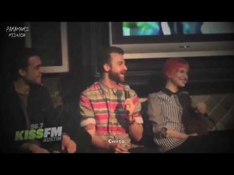 Paramore Interview With Kiss Fm  96.7 (subtítulos En Español) video