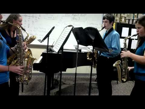 Lincoln High School - Saxophone Quartet 2012