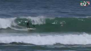 Mundaka:  Stand Up Paddle ola de Mundaka - Euskadi Surf TV