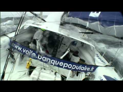 Vendée Globe - Day 36: December 15th - Rough conditions in the Southern Seas