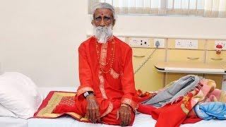 Man Hasn't Eaten Any Food In 75 Years