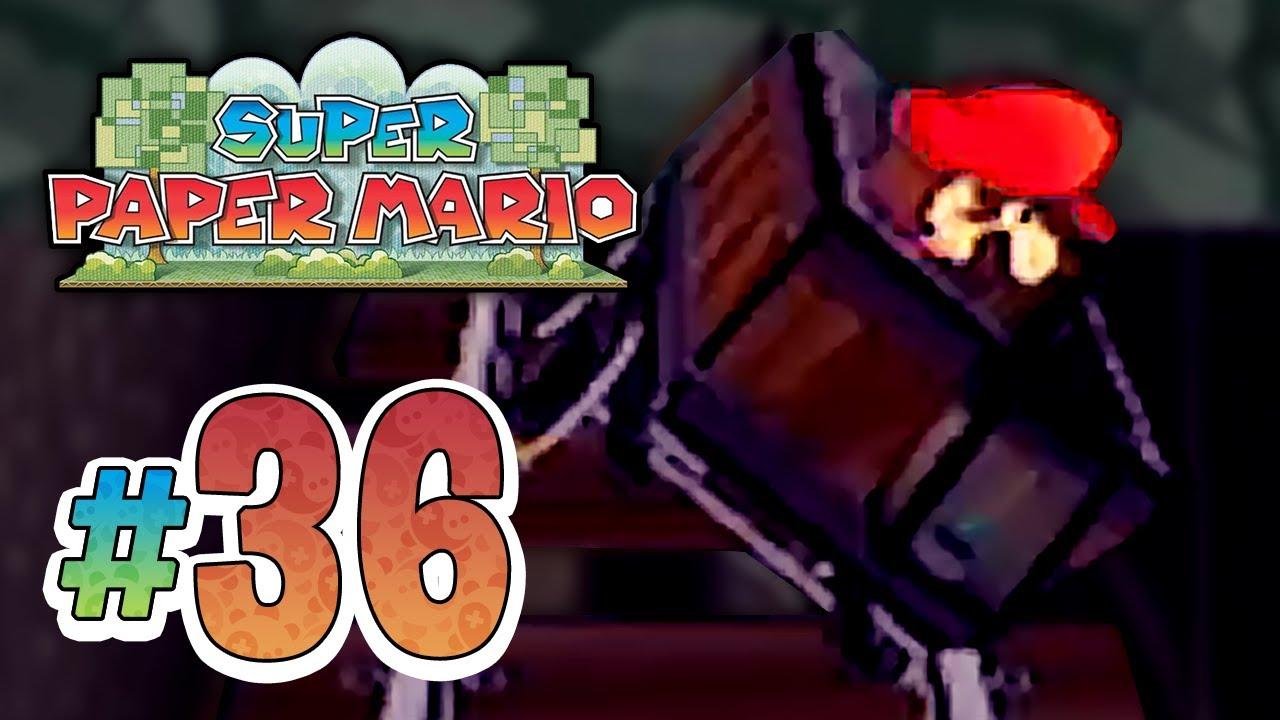 Super Manic Episode Manic Mine Cart || Super Paper