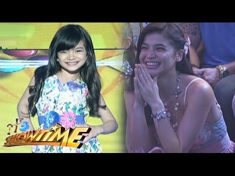 MiniME of Anne Curtis sings 'Alone'