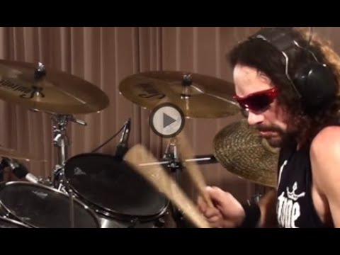 Megadeth Holy wars Nick Menza Drums Only