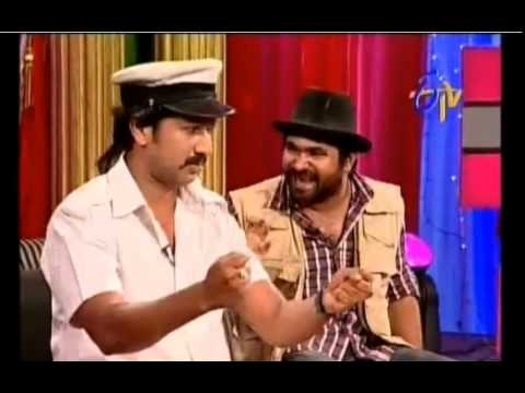 Jabardasth comedy show etv 11th july(Chanti Performance)