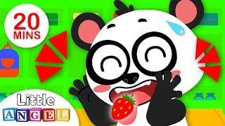Johny Johny Yes Papa Nursery Rhyme for Children | Baby Animal Friends | Kids Songs by Little Angel