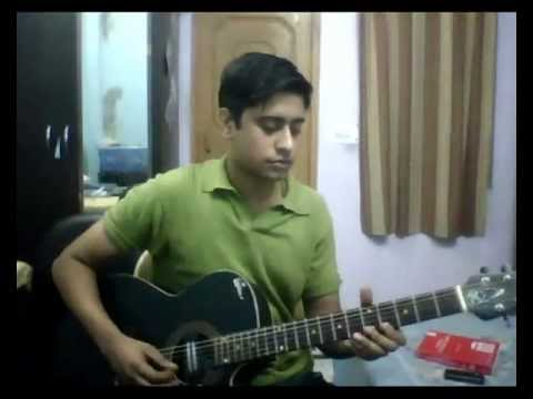 tere liye hum hain jiye on guitar
