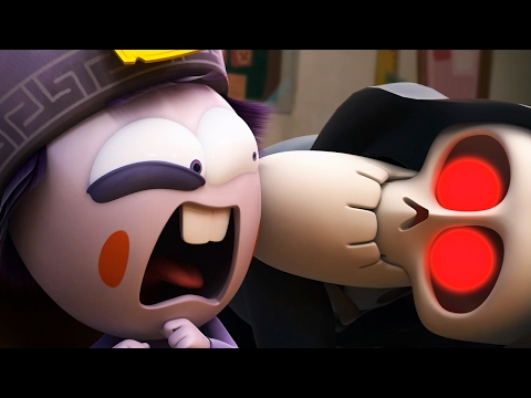 Funny Animated Cartoon | Spookiz Season 1 - Pop Quiz | 스푸키즈 | Cartoon for Kids