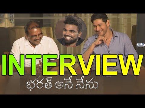 Mahesh Babu and Siva Koratala Bharat Ane Nenu Promotional Interview With Anchor Pradeep