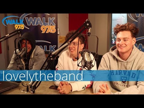 Lovelytheband in studio with Christina Kay!