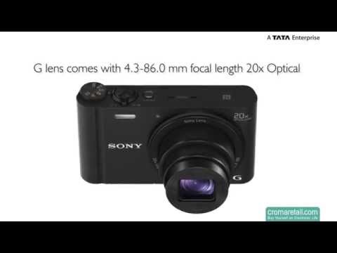 Sony Cyber-shot DSC-WX350/B 18.2 MP Digital Camera (Black)