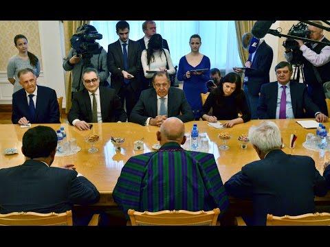 С.Лавров и Х.Карзай | Sergey Lavrov & Hamid Karzai