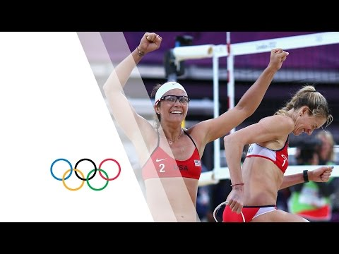 Beach Volleyball Women's Semifinals - United States v China Replay