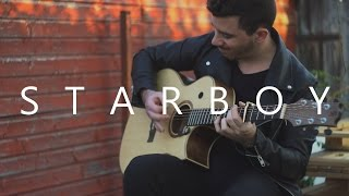 Download Lagu Starboy - The Weeknd (fingerstyle guitar cover by Peter Gergely) Gratis STAFABAND