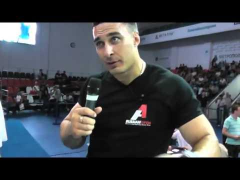 Чемпион мира по армреслингу Алексей Воевода - О вреде белка (High)
