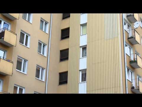 Pożar W Wieżowcu Na Czechowie W Lublinie  Spaliła Się Winda
