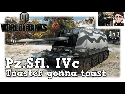 World of Tanks - Pz.Sfl. IVc, Toaster gonna toast [deutsch | live | LPT]