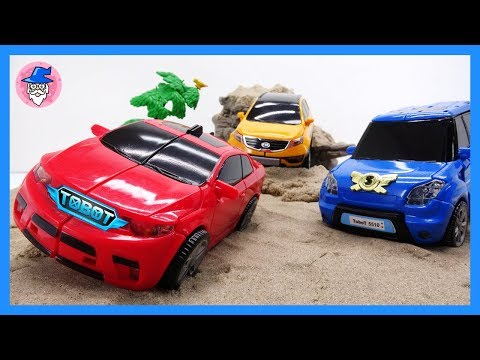 TOBOT transformed cars, received a new mission. Defeat the villains and rescue the toys.