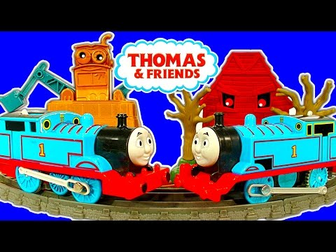 Thomas & Friends Trackmaster Deluxe Avalanche Escape Thomas Vs Thomas video