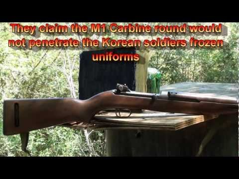 M1 Carbine Myths shooting DEBUNKED!