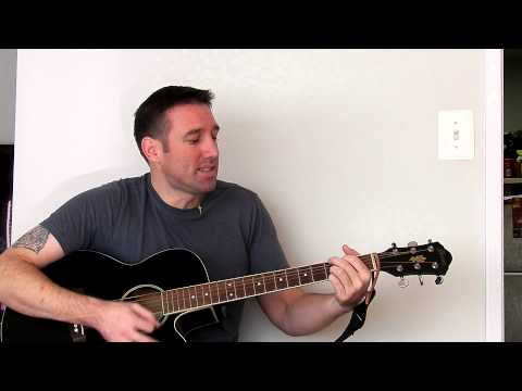Tutorial for Back 2 Good by Matchbox 20 (words with chords) (easy)