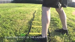 MAP - Agility Ladder - Hip Hinge