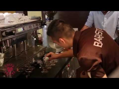 Costa Coffee Barista Competition 2014